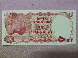 100 Indonesia Rupiah 1984 Banknote