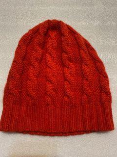 秋冬義大利製 100% CASHMERE 喀什米爾 毛線帽