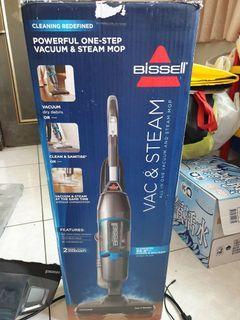 美國 Bissell 必勝 Vac & Steam 三合一蒸氣殺菌吸塵器 1132L
