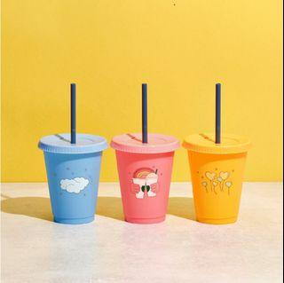 🆕 Starbucks Limited Edition Summer Joy Reusable Cold Cup Set