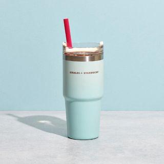 🆕 Starbucks X Stanley Limited Edition Light Blue Stainless Steel Cold Cup