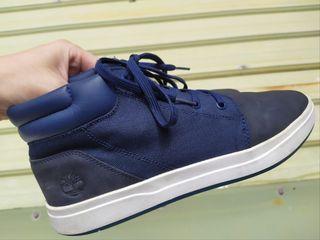 正品 Timberland 藍色麂皮 休閒鞋 運動鞋
