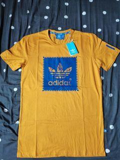 Adidas Mustard Tshirt