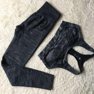 Adidas x Uniqlo M-semi L outfit
