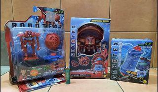 Authentic ROBOTEX Starter Pack Toy Lot