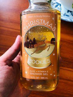 Bath & Body Works Shower Gel Christmas Cookies