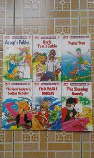Buku Cerita Anak   Story of the World -Aesop's Fables -Uncle Tom's Cabin -Peter Pan -The Seven Voyages of Sinbad the Sailor -Two Years Holiday -The Sleeping Beauty