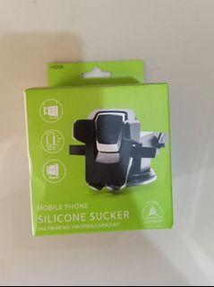 Carmount Mobile Phone Holder for Cars Silicone Suction Cup Base Mobil Hape