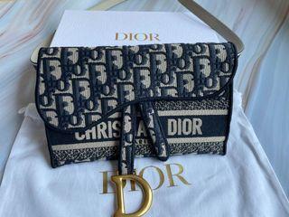Dior丹寧斜背包wic