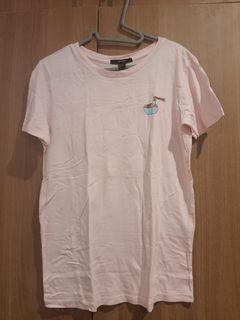 Forever 21 pink ramen shirt