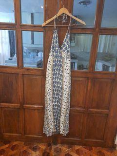 ILLA ILLA MAXI FLORAL DRESS