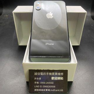 🍎iPhone X 256g space gray battery 89% with charger/face recognition/front and rear camera failure/other functions are okay when the part machine price is sold/sold non-refundable/sold non-refundable🍎