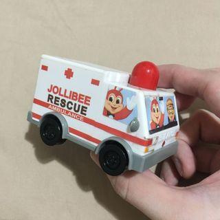 Jollibee rescue ambulance toy
