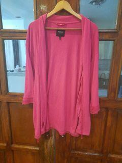 JUICY COUTURE CLASSY PINK CARDIGAN