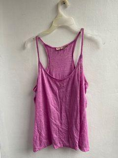 Juicy Couture pink sleeveless top