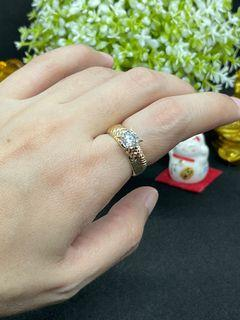 K18 Gold - Solitaire Ring (R16)
