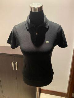 Lacoste Black Collared Shirt