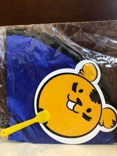 little tigers束口收納袋(深藍色)