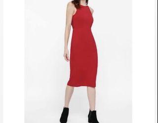 Love, bonito midi red dress