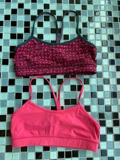 Lululemon 運動內衣兩件合售
