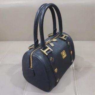 MCM Boston Black Handbag
