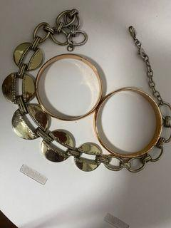 Necklaces and bangles