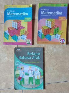 Pelajaran Matematika 4A dan 4B, Belajar Bahasa Arab