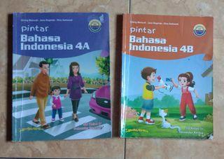 Pintar Bahasa Indonesia 4A dan 4B