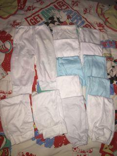 PRELOVED NEWBORN CLOTHES WITH WASHABLE CLOTH DIAPERS