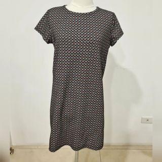 pull & bear patterned dress