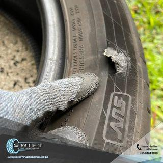 Roadside Brand New Car Tyre Replacement Service Singapore