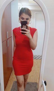 Sexy cotton dress