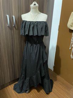 Shein Off-Shoulder Maxi Dress