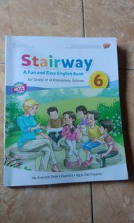 Stairway A Fun and Easy English Book  kelas 6