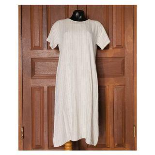 STRIPES LINEN DRESS