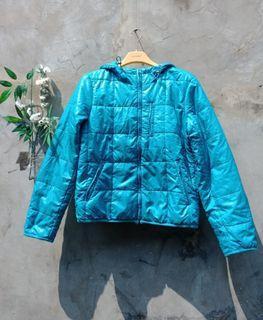Uniqlo blue jacket preloved