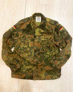 Vintage German Flecktarn Camo field shirt