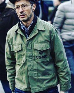 Vintage USMC P56 field shirt