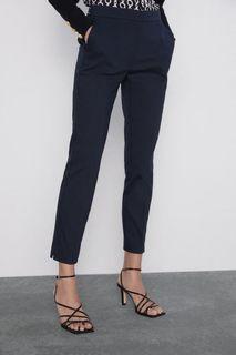 ZARA elastic waist pants