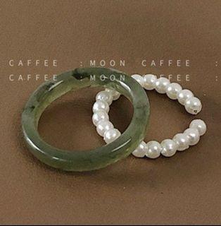 溫柔小姊姊珍珠戒指🧚🏻♀️(單售珍珠戒指)