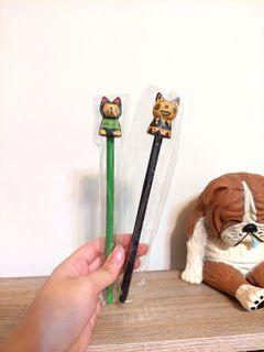 貓咪木頭筆