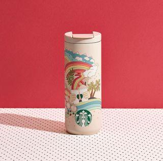 🆕 Starbucks Limited Edition Joy Of Connection Stainless Steel Tumbler