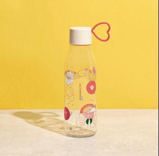 🆕 Starbucks Limited Edition Summer Joy Plastic Water Bottle