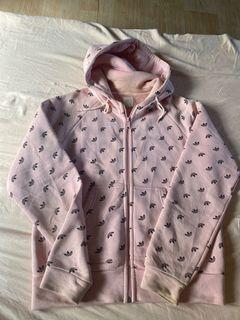 Adidas Pink Hoodie Jacket