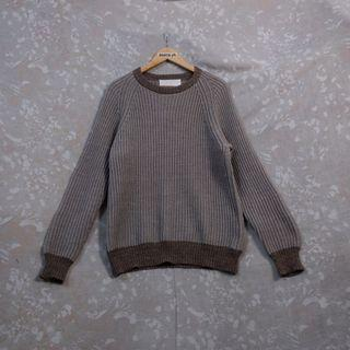 A/W '14 White Mountaineering Knitted Englishman Sweater