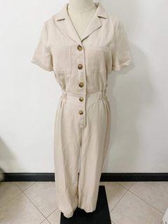 Buttondown jumpsuit