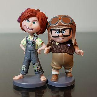 Carl and Ellie - Up - Disney Pixar Movie