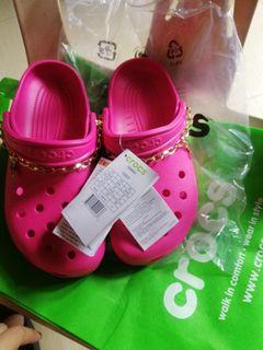 crocs bae clog pink