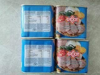 GRoot  luncheon meat 24 pcs per case