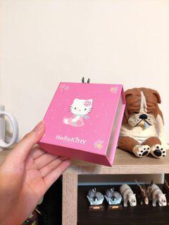 hello kitty 絕版精品盒 首飾收納盒